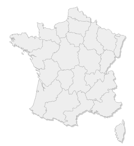 Carte des devis-vmc de France