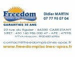 FREEDOM PISCINES ET SPAS 66330