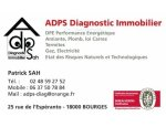 ADPS DIAGNOSTIC IMMOBILIER 18000